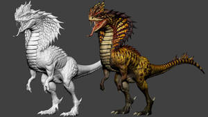 Cobrasaurus Hybrid FBX FREE DOWNLOAD