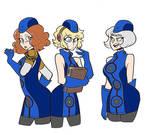 Aigis,Haru and Elizabeth head swap version one