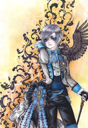 Ciel Phantomhive by Hsk0254