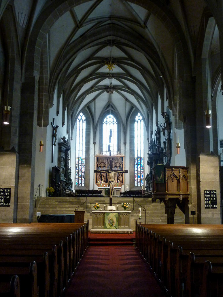 Stock Image - Church Interior - 02 by Life-For-Sale