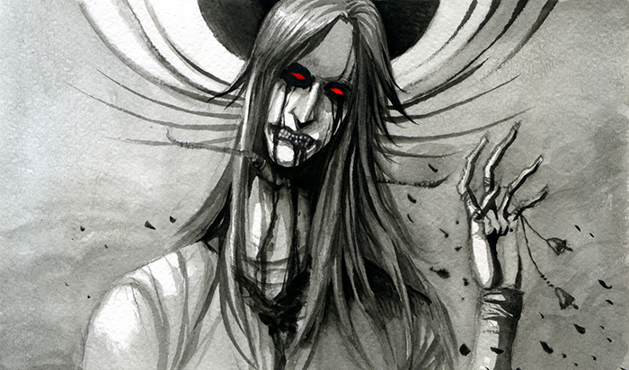Happy zombie by XViolacea