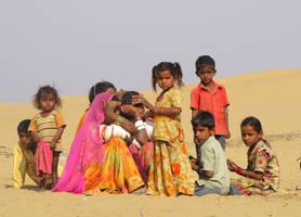 Children of the Desert by red-vervet