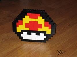 Mario's MushRoom in Lego by XenoWeb