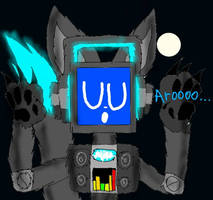 Fandroid The Howling Robot by LoudandProudFanGirl