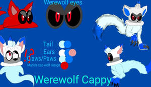Werewolf Cappy Reference Sheet by LoudandProudFanGirl