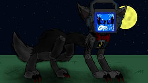 New Werewolf Fandroid Design  by LoudandProudFanGirl