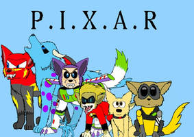 Pixar Werewolves  by LoudandProudFanGirl