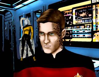Star Trek chara by Nyantara