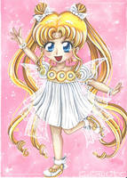 Chibi Serenity - Fanart Sailor moon by CrisEsHer