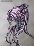 Sketch color Dark Lady - Fanart Sailor Moon