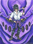 Uchicha Sasuke Rinnegan Mode - Fanart Naruto