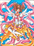 Sakura Kinomoto - Fanart Card Captor Sakura