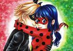 Miraculous LadyNoir - Fanart Miraculous Ladybug