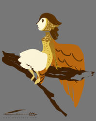 Featherweight by Doodlee-a