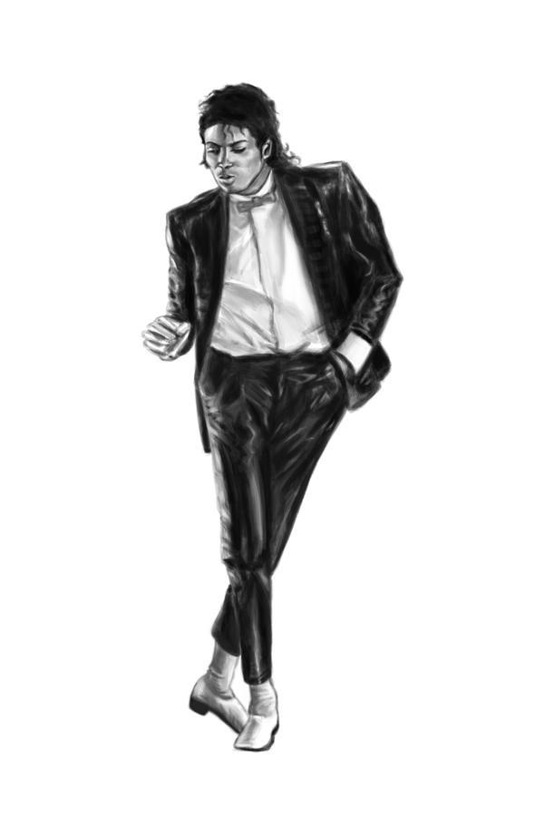 Micheal jackson billie jean by mat3w on deviantart for Michael jackson billie jean coloring pages