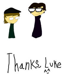 thanks, luke by kidkyryte