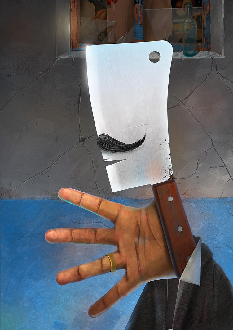 Meat Cleaver by lagnomaxim