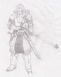 Nord long rifleman wip by Lord-Kothless