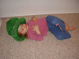 sleeping lepcrechaun by Art-stock