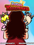 Royal Takeover - Cover (AR Version Comic) by CassaFemArts