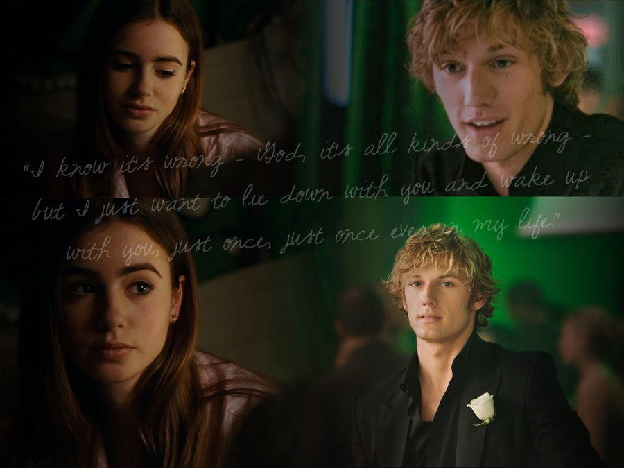 Clary and Jace C    Jace And Clary City Of Bones