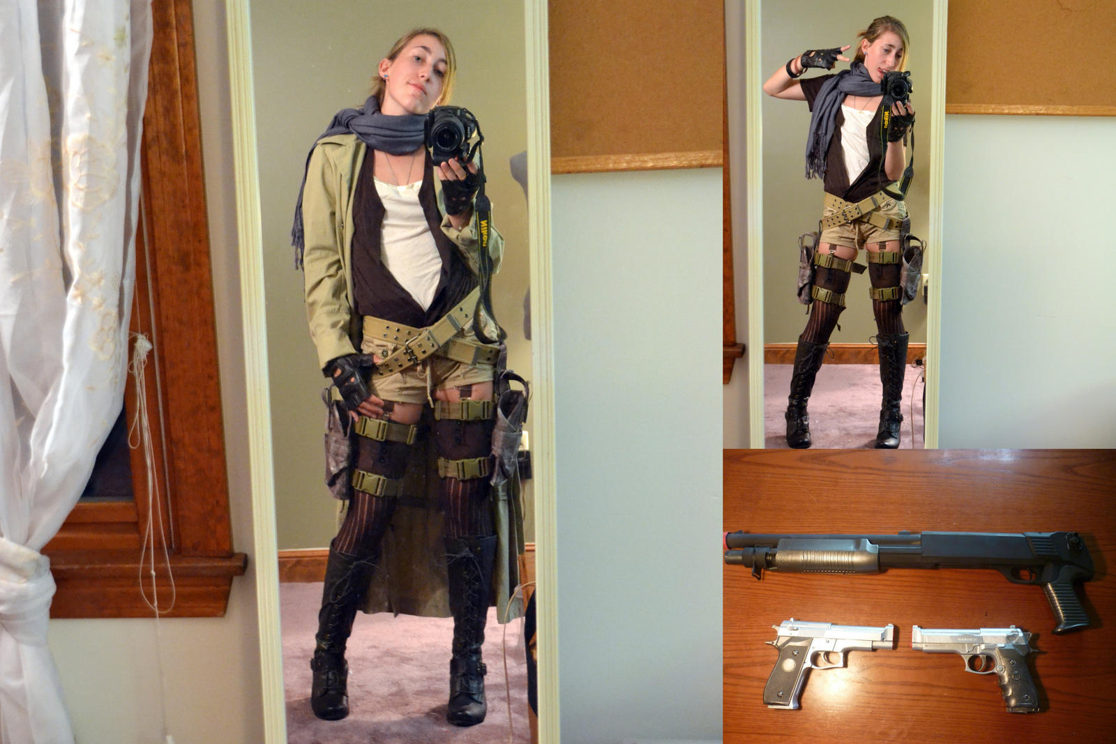 Alice Resident Evil Extinction Cosplay By Chibikitsune1014 On