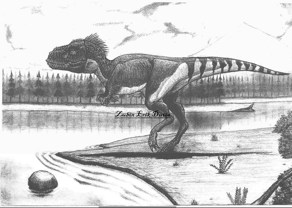 Tyrannosaurus by amorousdino