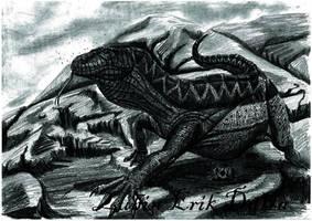 The Great Roamer Awakens by amorousdino