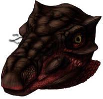 Pawpawsaurus reconstruction by amorousdino