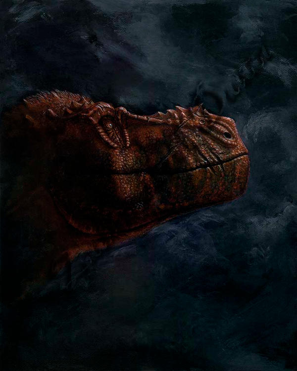Tyrant at Dusk by amorousdino