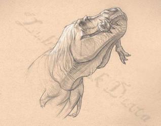 Tyrannophagy by amorousdino