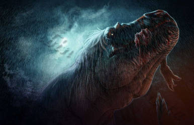 Tyrannophagist by amorousdino