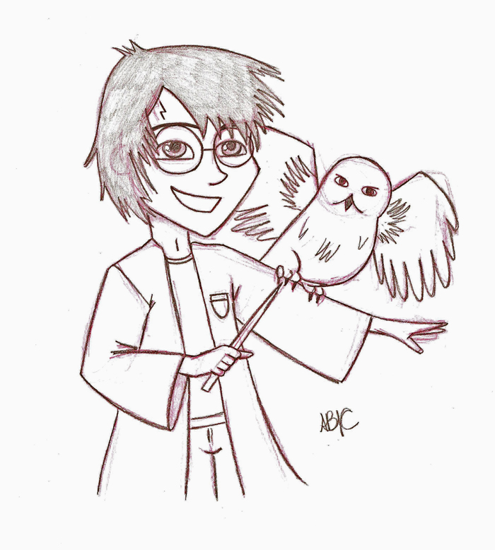 Harry Potter Sketch By Itslikebia On DeviantArt