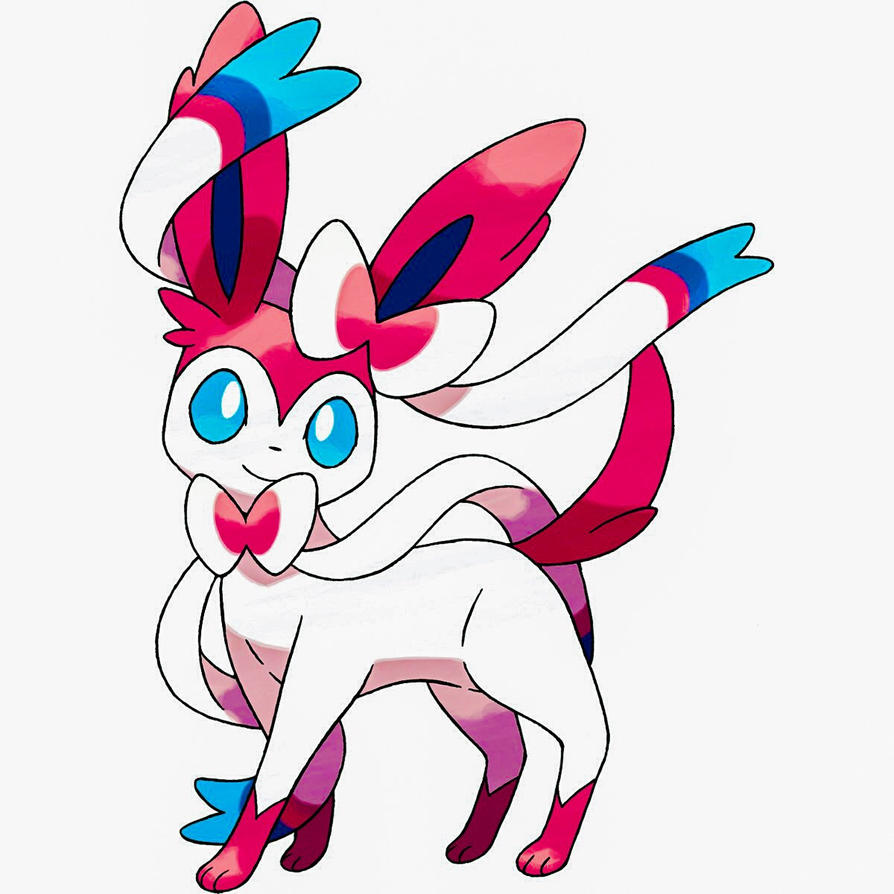 My second Undecided Sylveon design by Magic-Lover2128