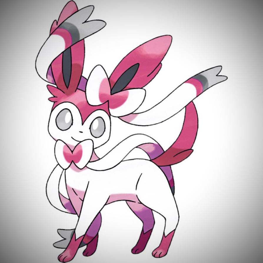 My third Undecided Sylveon Design by Magic-Lover2128