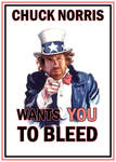 Chuck Norris wants YOU...