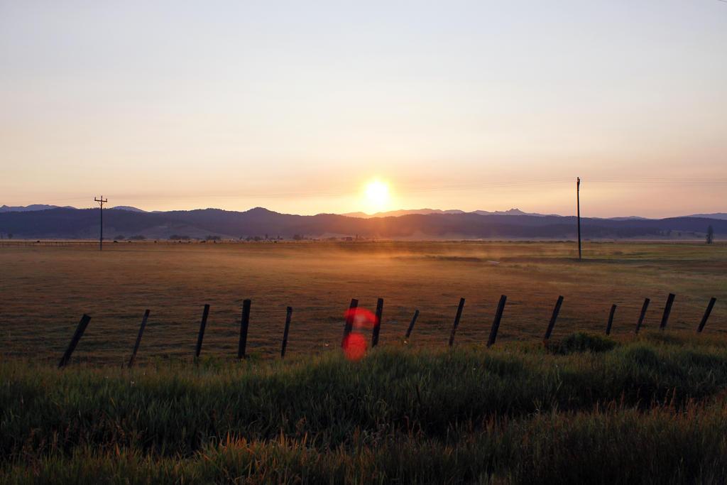 Mountain Meadow Sunrise by VileYonderboy