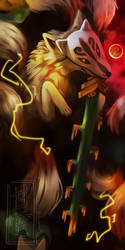 . Demon Lord Ninetails (Fanart Friday) by SweetElectricity