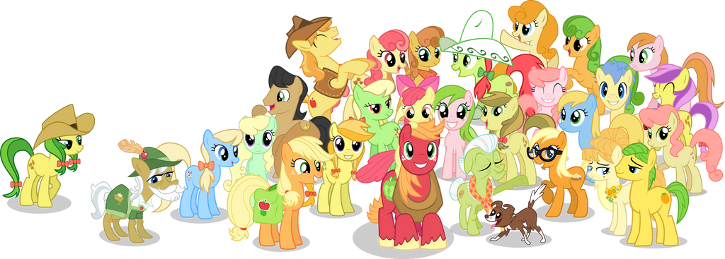 Apple Family Apple Family no BG  Clothed