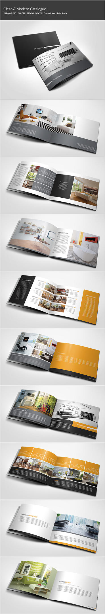 Clean / Modern Catalogue by shapshapy
