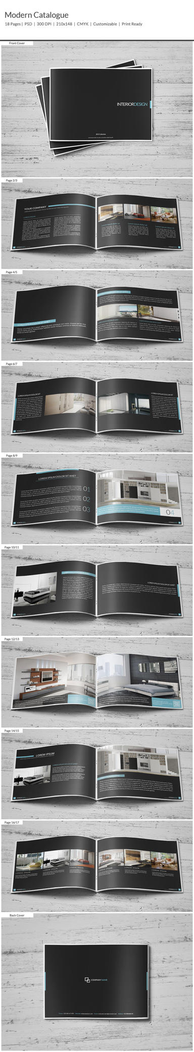 Modern Catalogue by shapshapy