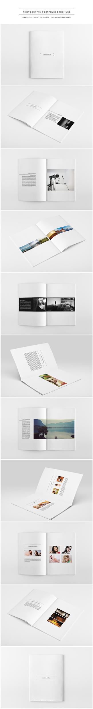 Photography Portfolio Brochure by shapshapy