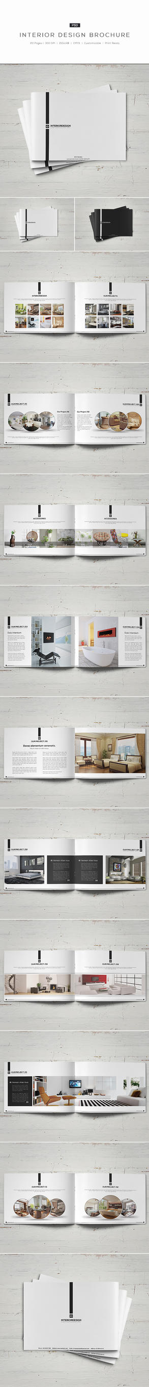 Interior Design Brochure by shapshapy