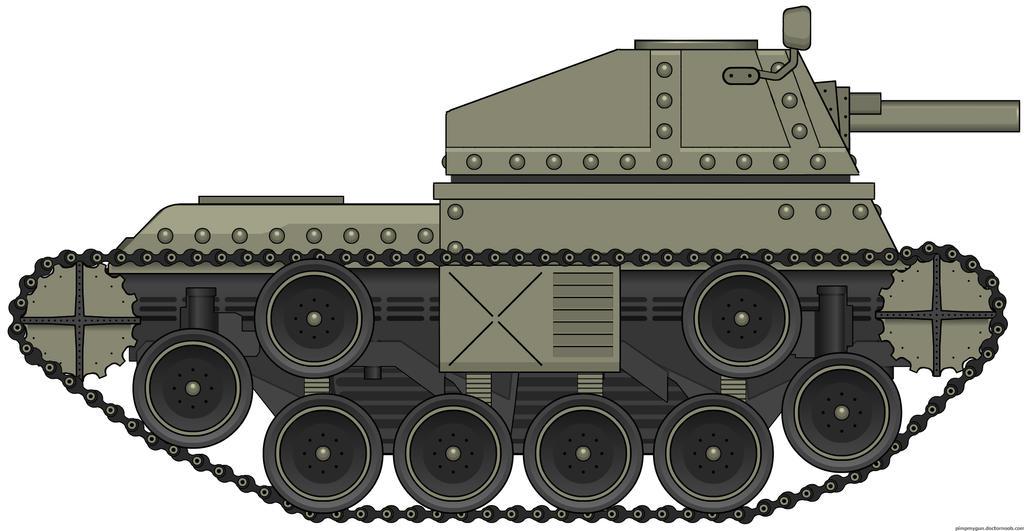 Wicker Light Tank, T-29 by Sharkour