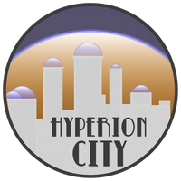 Hyperion City fake patch (fancy)
