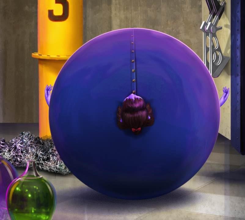 Violet Blueberry Violet Beauregarde Blu...