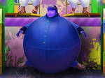 Violet Beauregarde Blueberry Ball