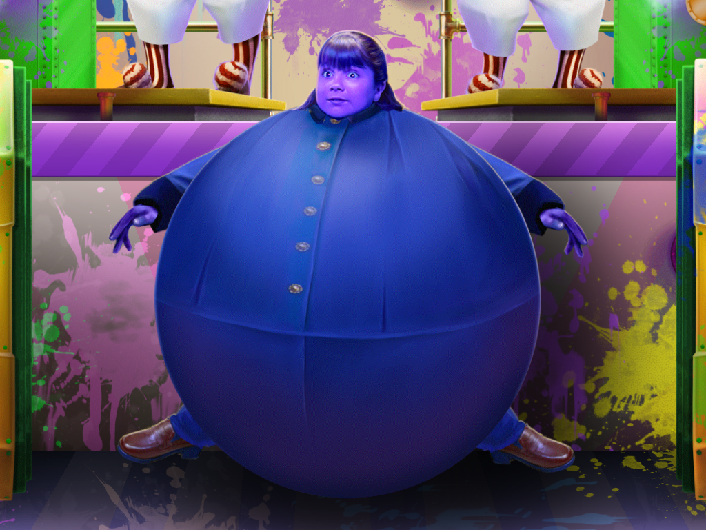 violet beauregarde blueberry ball by girard1020 on deviantart