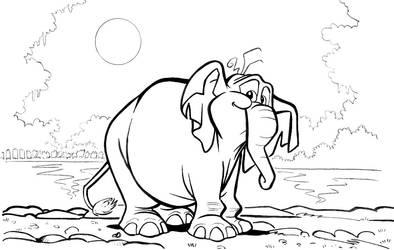 Elefante by alfiov