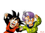 Goten and Trunks color